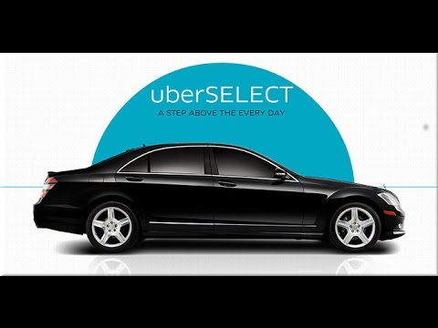 car requirements for UberSelect