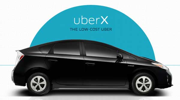 car requirements for UberX