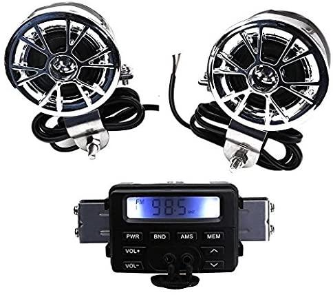 Badass Sharks Motorcycle Bluetooth Speaker - best bluetooth motorcycle speakers
