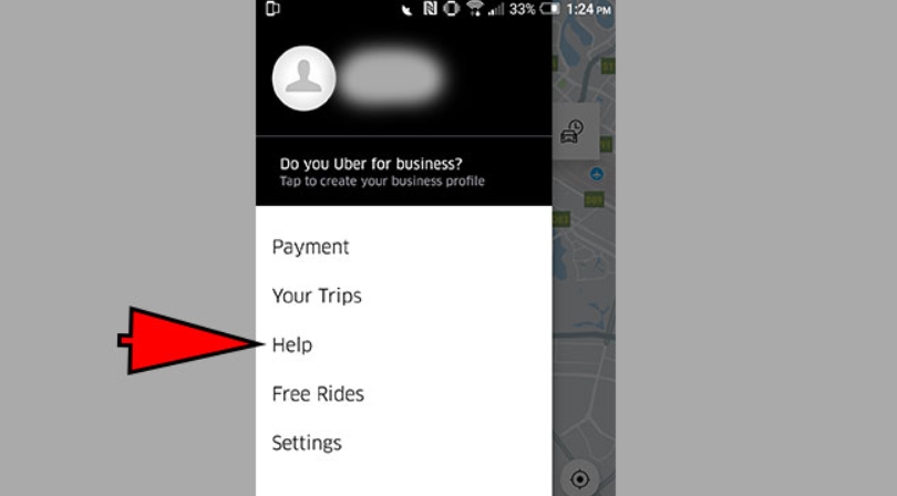 how to delete trip history on uber app
