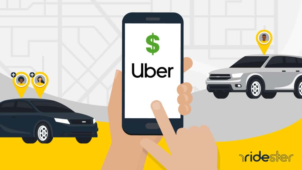uber charges per person