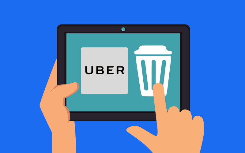 remove credit card from uber