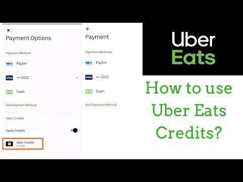 uber eats credit