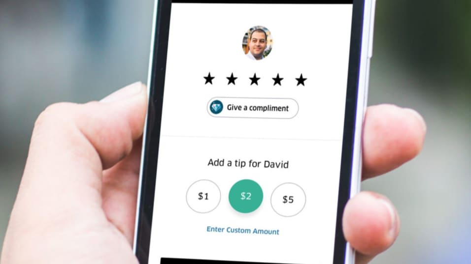 is it customary to tip uber