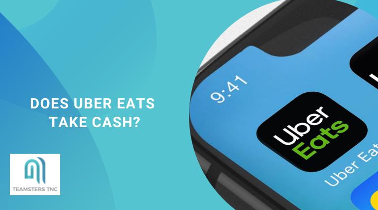 does uber eats take cash