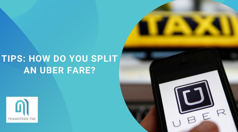 how do you split an uber