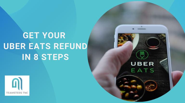 uber eats refund