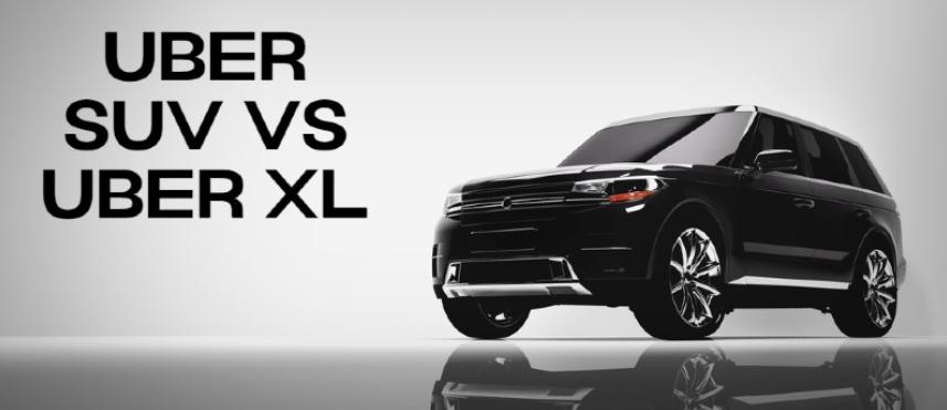 uberxl vs ubersuv