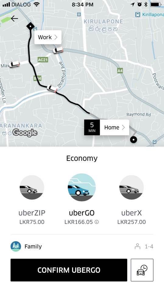 what is uber zip