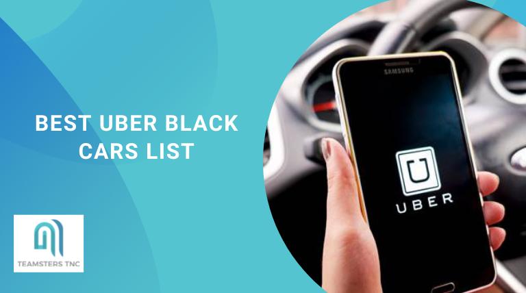 best uber black cars